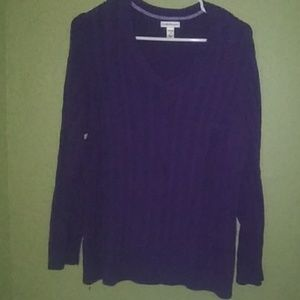 Very Pretty Violet Sweater!